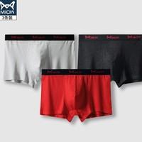 Miiow 猫人 男士莫代尔内裤 3条装