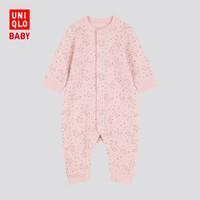 UNIQLO 优衣库 婴儿/新生儿 压线连体装(长袖) 419819 UNIQLO