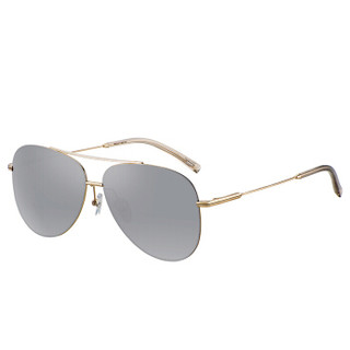 海伦凯勒墨镜 偏光太阳镜男款驾驶专用蛤蟆镜 情侣款开车眼镜 H8548茶色水银镀膜N01R