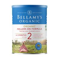 BELLAMY'S 贝拉米 有机婴儿牛奶粉2段 300g