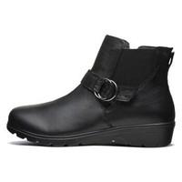 斯凯奇SKECHERS女靴经典舒适耐磨休闲短靴 49249