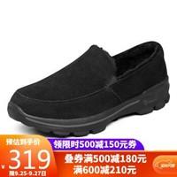 斯凯奇 Skechers绒毛套脚鞋 舒适保暖健步鞋6666005