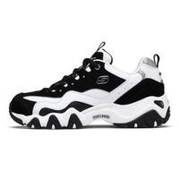 Skechers斯凯奇情侣款女子运动鞋复古厚底老爹鞋熊猫鞋99999069
