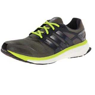 adidas 阿迪达斯 Energy Boost 2 男士跑鞋 绿色 45
