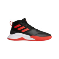 adidas 阿迪达斯 Own The Game 男士休闲运动鞋 EF0647 一号黑/红色/白色 42