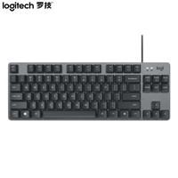 罗技( Logitech)K835机械键盘 有线键盘 游戏办公键盘 84键 黑色 TTC轴 红轴