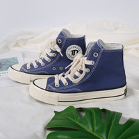 Tourmark男鞋女鞋 运动鞋高帮时尚舒适透气休闲鞋板鞋帆布鞋 T16206 42