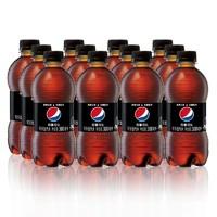 百事可乐 无糖碳酸饮料 可乐型汽水 300mlx12瓶 百事无糖可乐 整箱装 自营
