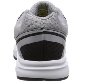 adidas 阿迪达斯 Galaxy Trainer 男士训练鞋 AF6017 1号黑色/夜金属灰/浅柠檬黄 40