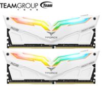 十銓夜鷹RGB DDR4臺式電腦內存條 3200 16G(8G×2)套裝  主板同步 十銓 白色夜鷹 16G 3200 (8G*2)套裝
