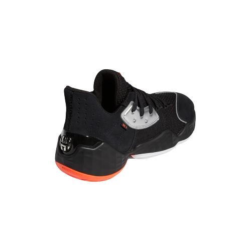 adidas 阿迪达斯 Harden Vol. 4 男士篮球鞋 EF1204 1号黑色/亮银/荧光红/亮白 42