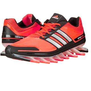 adidas 阿迪达斯 springblade 男士跑鞋 太阳能蓝/银/黑 46