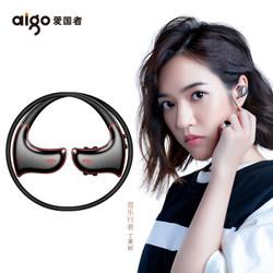 aigo 爱国者 MP3-601蓝牙运动耳机 MP3播放器 一体机 16G 黑