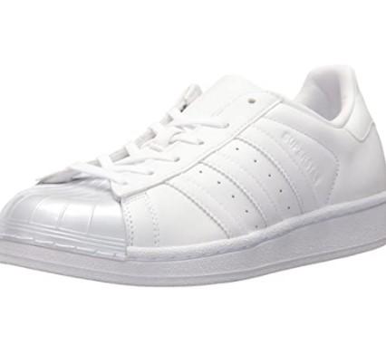 adidas Originals Superstar 女士休闲运动鞋 BB0683 白/白/核心黑色 41