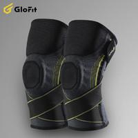 GLOFIT GFHX021 专业健身运动护膝 单只装