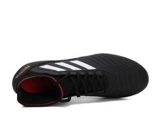 adidas 阿迪达斯 Predator 18.3 AG 男士足球鞋 CP9306 黑暗金 42