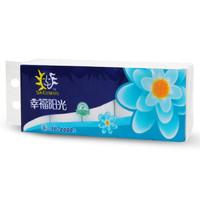 幸福阳光 太阳花系列 卫生纸巾 3层*200克*10卷