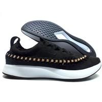Nike耐克 DUALTONE 10 女子黑色沙褐色赛车编织运动鞋 AJ8156-001