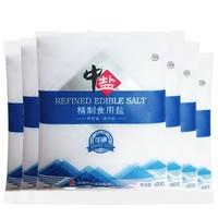 中盐 精制食用盐 400g*12袋
