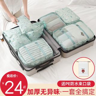 旅行收纳袋行李箱衣物整理包旅游分装装衣服的袋子便携内衣收纳袋
