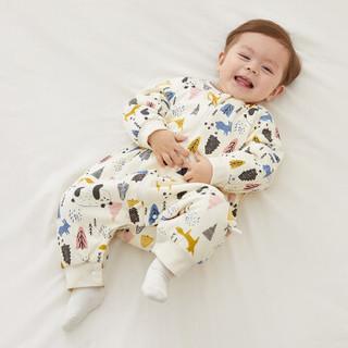 威尔贝鲁(WELLBER)婴儿睡袋宝宝防踢被 *2件