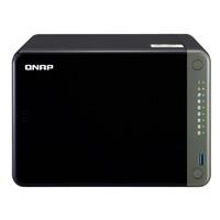 QNAP 威联通 TS-653D 6盘位 NAS存储 黑色 (J4125、4GB)