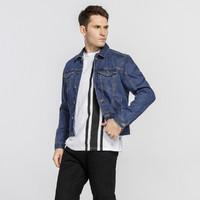 Calvin Klein 41BJ841467 男式牛仔外套