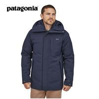 Patagonia巴塔哥尼亚羽绒服男Frozen Range防水羽绒派克大衣27970