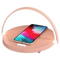 无线充电+台灯+手机支架,EZVALO·几光多功能台灯lydia青春版上新~