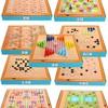 丹妮奇特 7601 儿童多功能游戏棋