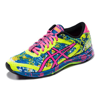 ASICS 亚瑟士 Gel-Noosa Tri 11 女士跑鞋 T676N-3378 黄色/粉色/蓝色 37
