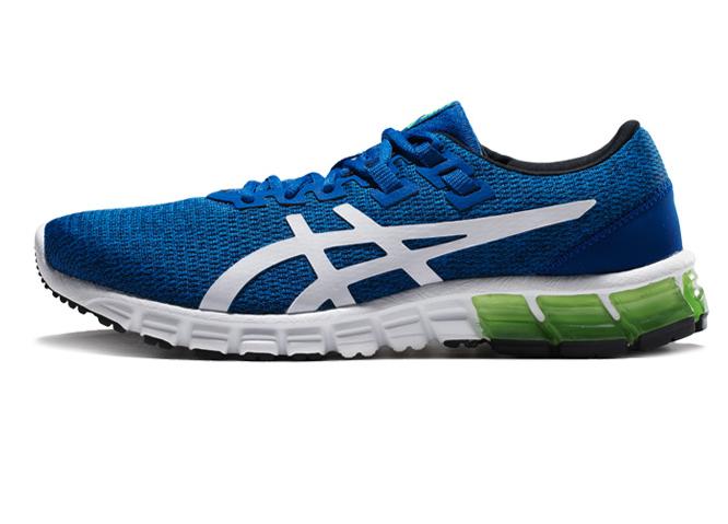 ASICS 亚瑟士 Gel-Quantum 90 男士跑鞋 1021A123-400 蓝色/白色 40