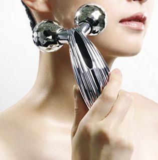 ReFa 黎珐 ReFa CARAT RAY 微电流滚轮式美容仪 银色