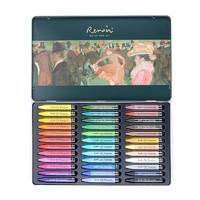 Marco 马可 36000C 雷诺阿系列 专业美术重彩油画棒 36色铁盒装 送刮刀+16K绘画纸