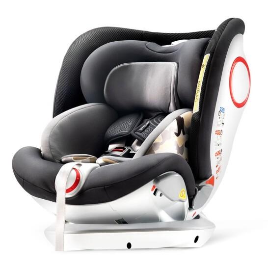 Savile 猫头鹰 M173A妙转 儿童安全座椅 0-4-6-7岁  银河