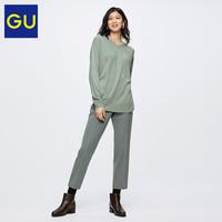 GU 极优 318272 女款长裤铅笔裤