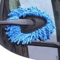 普拉米拉 汽车短柄小蜡拖洗车刷 2支