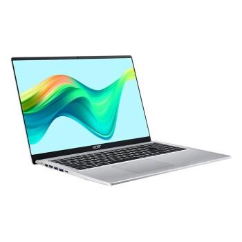 acer 宏碁 蜂鸟系列 蜂鸟 Fun 15.6英寸 笔记本电脑 酷睿i5-1135G7 8GB 512GB SSD 核显 银色