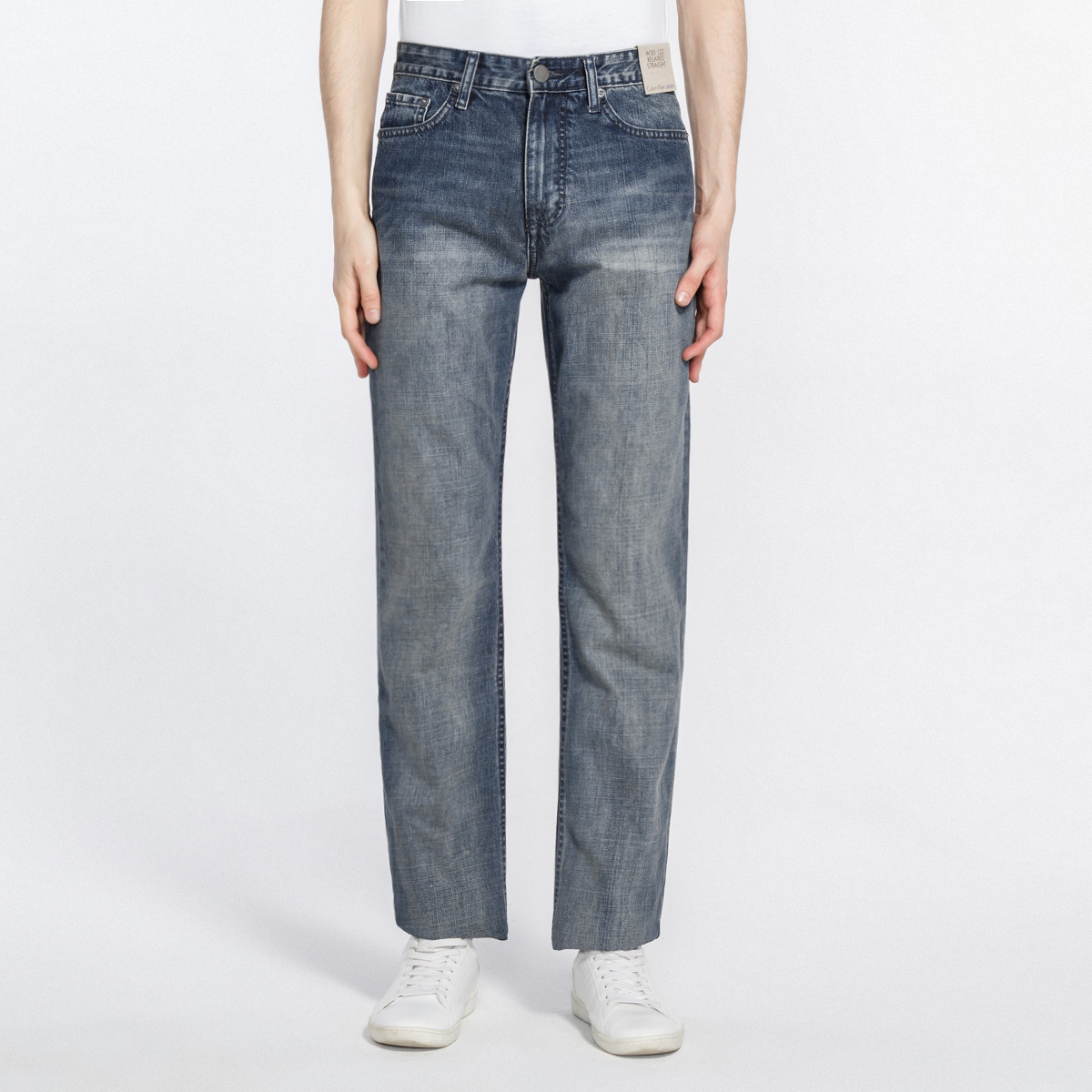 Calvin Klein 卡尔文·克莱 41BA860 男式直筒牛仔裤