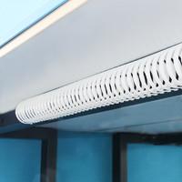 桌下走线管ABS阻燃理线器电源线绕线管办公整理收纳缠绕走线系统