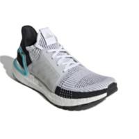 adidas 阿迪达斯 Ultra Boost 19 男士跑鞋 G54012 白/白/学院蓝 40