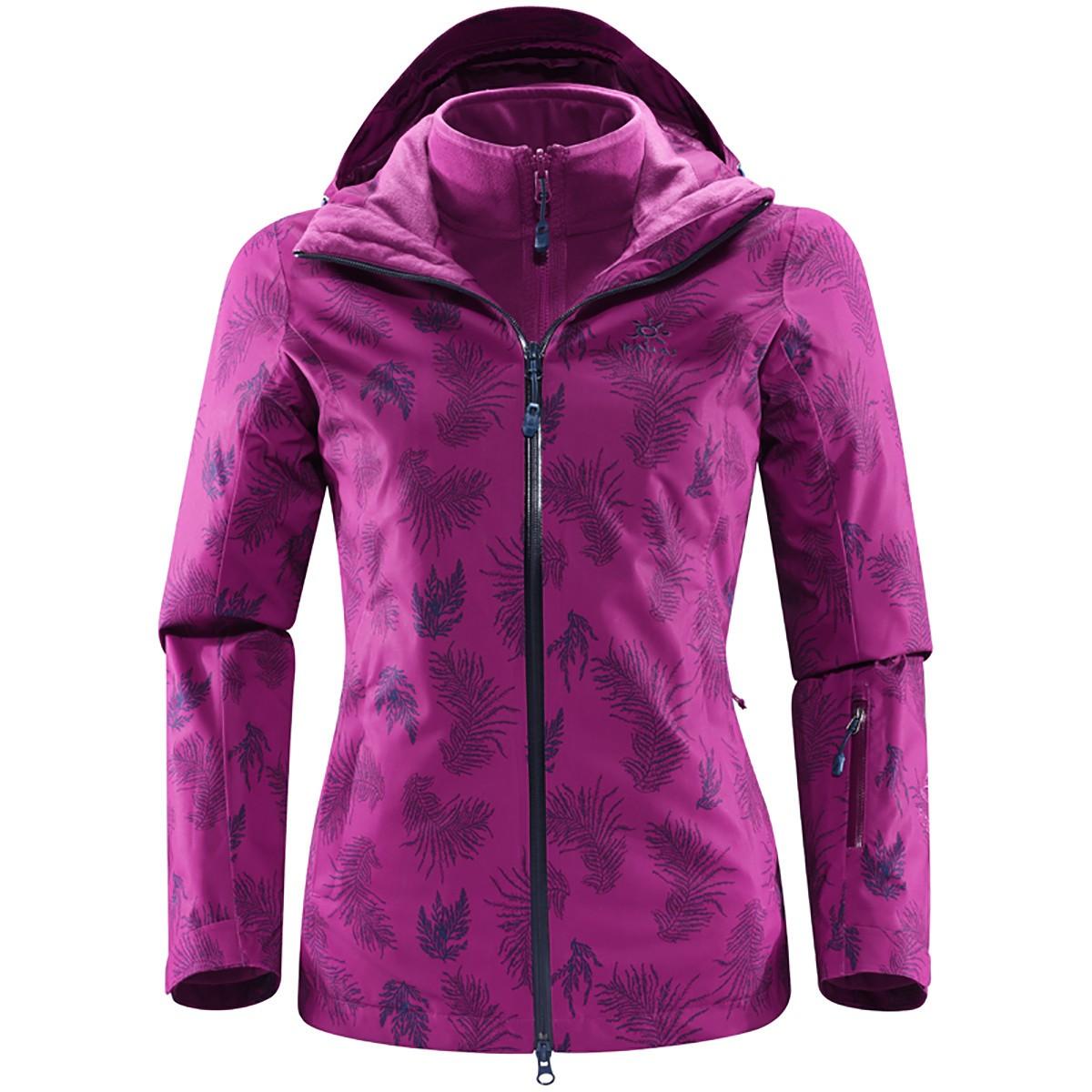 KAILAS 凯乐石 女士滑雪服 DG120020 紫叶 M