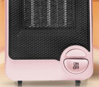 Panasonic 松下 DS-P0611CP 家用便携式暖风机 粉色