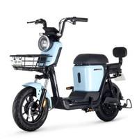 绿源超长续航锂电池电动车新国标电动自行车  ZFA 晴空蓝(锂电48V24Ah)