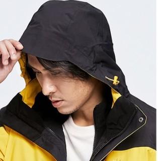 KAILAS 凯乐石 男士冲锋衣 KG110383 耀石黄/黑色 M