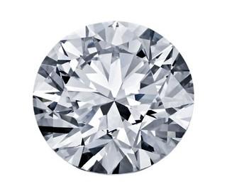Blue Nile 0.46克拉圆形切割钻石(理想切工 D级成色 SI1净度)