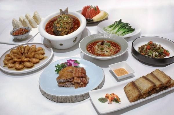 西安威斯汀大酒店 中国元素餐厅豪飨聚惠A套餐4人享用