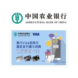 农业银行 Visa信用卡微信支付达标福利