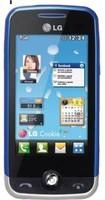LG GS290 Cookie Fresh GSM 四频解锁手机,带 2 MP 摄像头(蓝色) - 国际版无保修