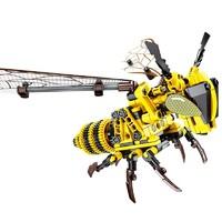 SEMBO BLOCK 森宝积木 昆虫系列 大黄蜂 703200  236颗粒